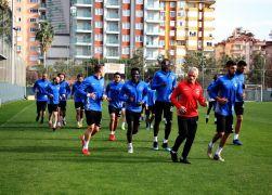 Alanyaspor'da Akhisar maçı hazırlıkları başladı
