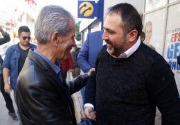 Aksoy'dan Dülgeroğlu'na destek