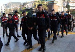 Alanya'da suç örgütü şüphelisi 15 kişi tutuklandı