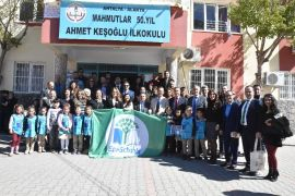 Alanya Eko Okullarından çevre dayanışması