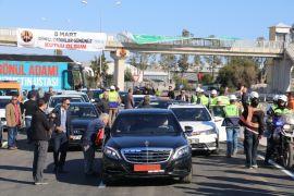 Antalya'da 8 Mart'ta açılacak sözü verilen kavşak hizmete açıldı