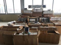 Antalya'da gümrük kaçağı 27 bin güneş gözlüğü ele geçirildi
