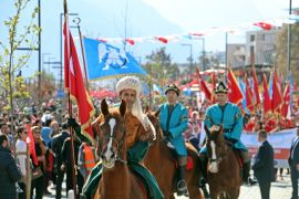 Antalya'nın fethinin 812'nci yılı coşkuyla kutlandı