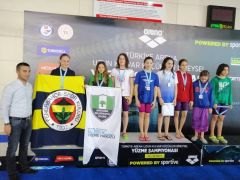 Antalyaspor yüzme takımı 4 madalya ile döndü