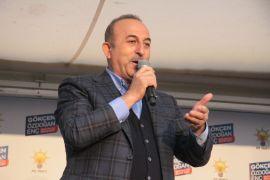 """Bakan Çavuşoğlu: """"Vatanını, milletini seven insanların kurduğu ittifakla diğer ittifakları bir tutmak bu millete hakarettir"""""""