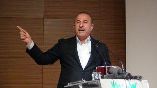"""Bakan Çavuşoğlu: """"Bizim belediye meclisi adaylarımızı PKK belirlemedi"""