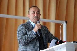 """Bakan Çavuşoğlu: """"Bunun adı Millet İttifakı değil zillet ittifakı, illet ittifakı olur"""""""