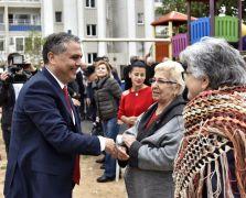 Başkan Uysal, site sakinleriyle bir araya geldi