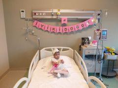 Epcamsel Mutasyumu hastası minik Melek 3 yaşında adeta yeniden doğdu
