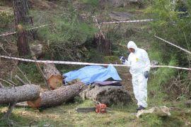 Kestiği ağacın altında kalan yaşlı adam öldü