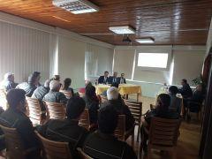 Kumluca'da orman personeline suç önleme semineri verildi
