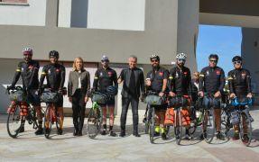 Manavgatlı bisikletçiler, Çanakkale Şehitlerine memleket toprağı götürecek
