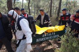 Ormanda 8 parça halinde bulunan cesedin kimliği tespit edildi, 4 şüpheli gözaltına alındı