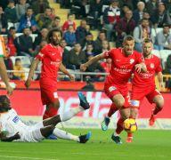 Spor Toto Süper Lig: Antalyaspor: 2 – Aytemiz Alanyaspor: 0 (İlk yarı)