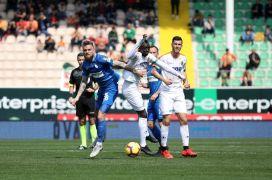 Spor Toto Süper Lig: Aytemiz Alanyaspor: 1 – BB Erzurumspor: 0 (İlk yarı)