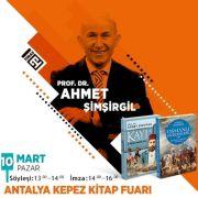 Tarihçi -Yazar Prof.Dr. Şimşirgil okurlarıyla buluşacak