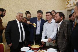 Türel Antalya'da yaşayan Karadenizlilerin konuğu oldu