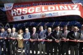 Türel, Antalya İş Fuarı'nı açtı