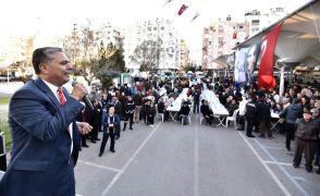 """Uysal: """"Muratpaşa yeşil alanlarda Türkiye şampiyonu"""""""