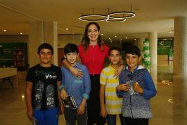 Yazar Burcu Bahar, minik okuyucularıyla Kepez'de buluştu