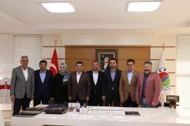 AK Parti milletvekillerinden, Tütüncü'ye 'hayırlı olsun' ziyareti