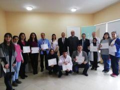 Akseki'de İşaret dili öğrenen personele sertifika verildi