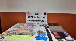 Alanya'da yasa dışı bahis operasyonu: 8 gözaltı