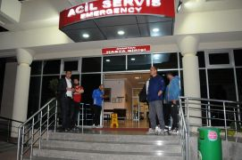Alanyasporlu futbolcular özel araçla kaza yaptı: 1'i ağır 7 yaralı