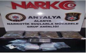 Kargodaki uyuşturucu polise takıldı