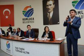 Kumluca Belediyesi yeni dönemin ilk meclis toplantısını yaptı