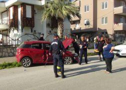 Manavgat'ta trafik kazası: 4'ü yabancı uyruklu 5 yaralı