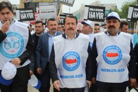 """Memur-Sen Başkanı Yalçın: """"4 bin 910 üye istifa ettirildi"""""""