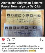 Yerel seçimlerde kendisine çıkan oy, Pascal Nouma'yı mutlu etti