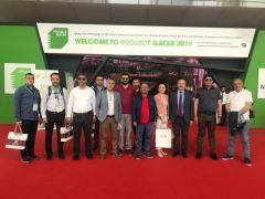 """ATSO İnşaat Sektörü temsilcileri """"Project Katar"""" fuarına katıldı"""