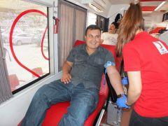 Kaş'ta kan bağışı kampanyası