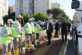Kepez'de 68 mahalleye bahar temizliği