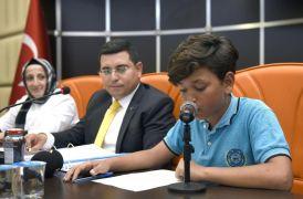 Kepezli çocuklar mecliste söz aldı
