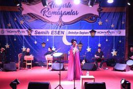 Konyaaltı'nda Türk Halk Müziği ziyafeti