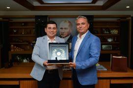 Başkan Uysal, ABB'yi ağırladı
