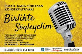 İsmail Baha Sürelsan Konservatuvarı'nda kayıtlar başladı