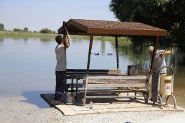 Döşemealtı Belediyesinden Kırkgöz Gölü'nde temizlik