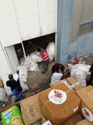 Kemerden gönderilen yardım malzemeleri Elazığ'a ulaştı