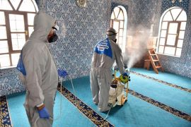 Kepez'den haftada bin 637 noktaya dezenfekte hizmeti