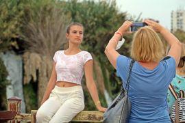 Düden Şelalesi sonbaharda da turistlerin gözdesi