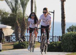 Analı-kızlı triatloncuları pandemi de durduramadı