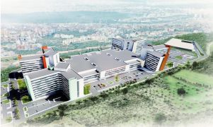 Antalya Şehir Hastanesi'nin inşaat çalışmaları başladı