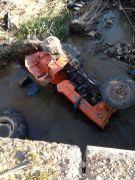 Dereye uçan traktörün 17 yaşındaki sürücüsü hayatını kaybetti