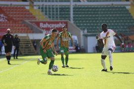 Süper Lig: Aytemiz Alanyaspor: 0 – Göztepe: 1 (İlk yarı)