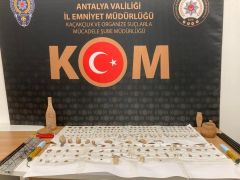 Antalya'da tarihi eser kaçakçılığı operasyonu