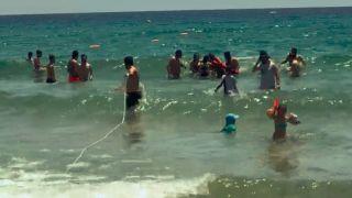Bir saat içinde boğulma tehlikesi geçiren 3 kişi kurtarıldı